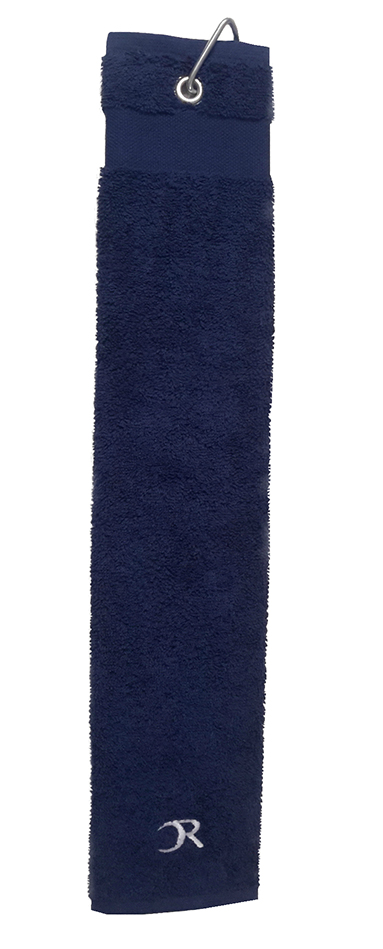 serviette Golf pliée en 3