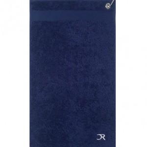 serviette golf bleu marine