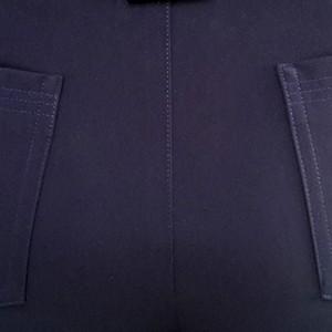 Pantalon marine détail poche