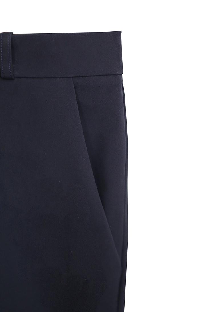 pantalon marine detail poche devant