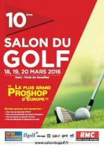 affiche salon du golf 2016