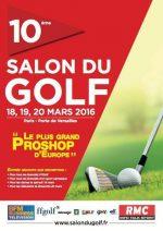 affiche salon du golf 2016