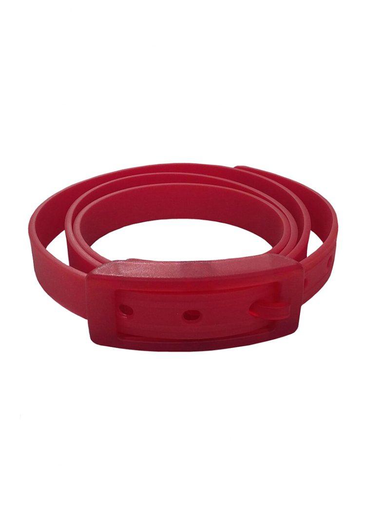 ceinture silicone rouge