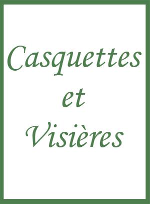 Casquettes et visières
